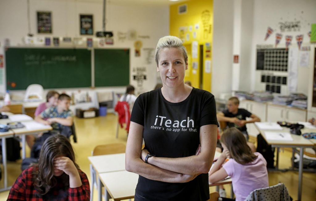 V njenem razredu ni tišine, ker učenci – delajo